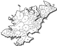 Civil Parish Records of County Donegal